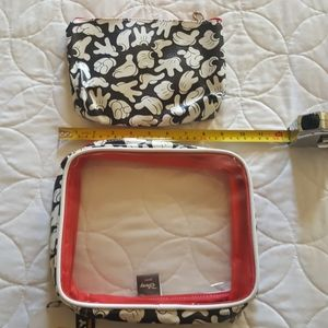 MICKEY MOUSE COSMETIC BAGS